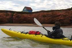 Kayak de mer - Iles de la Madeleine